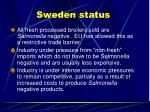sweden status
