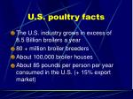 u s poultry facts