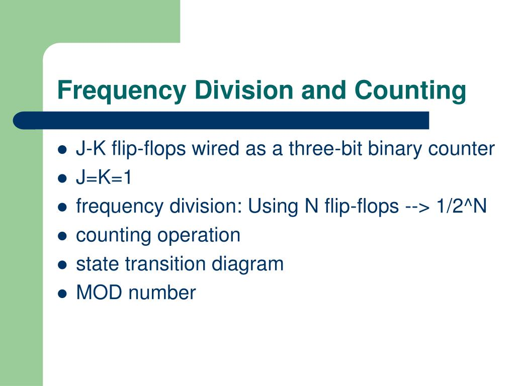 Frequency Division and Counting