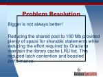 problem resolution62
