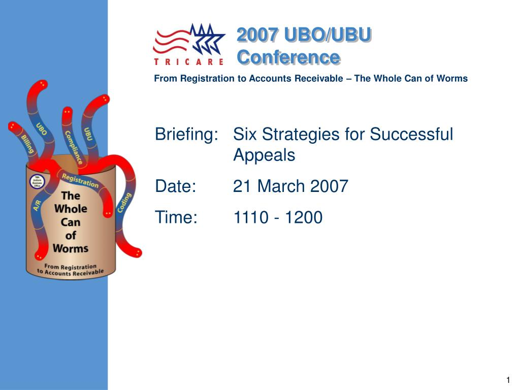 briefing six strategies for successful appeals date 21 march 2007 time 1110 1200 l.