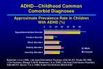 adhd childhood common comorbid diagnoses