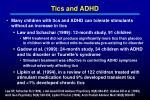 tics and adhd
