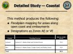 detailed study coastal
