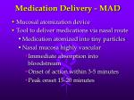 medication delivery mad