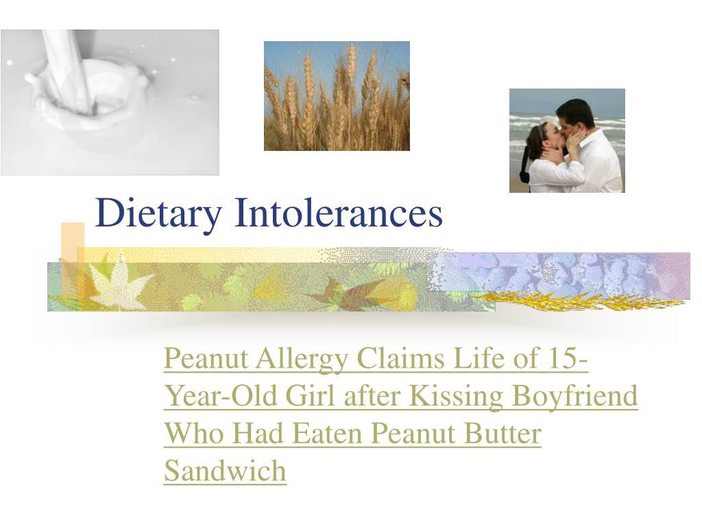 dietary intolerances l.