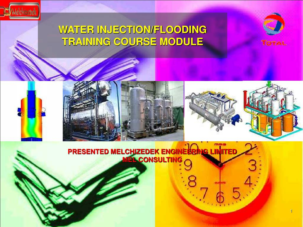 water injection flooding training course module l.