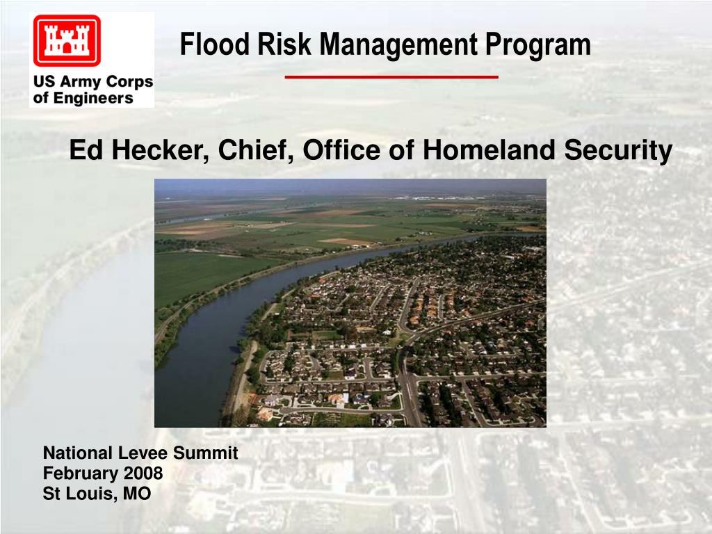 flood risk management program l.