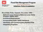 flood risk management program11