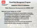 flood risk management program12