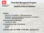 flood risk management program14