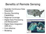 benefits of remote sensing