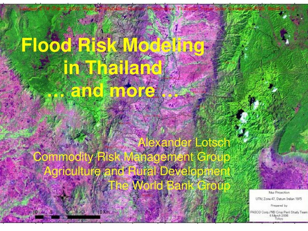 flood risk modeling in thailand and more l.