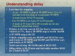 understanding delay