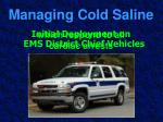 managing cold saline59