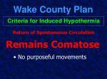 wake county plan40