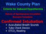 wake county plan41