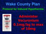 wake county plan45