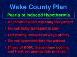 wake county plan49