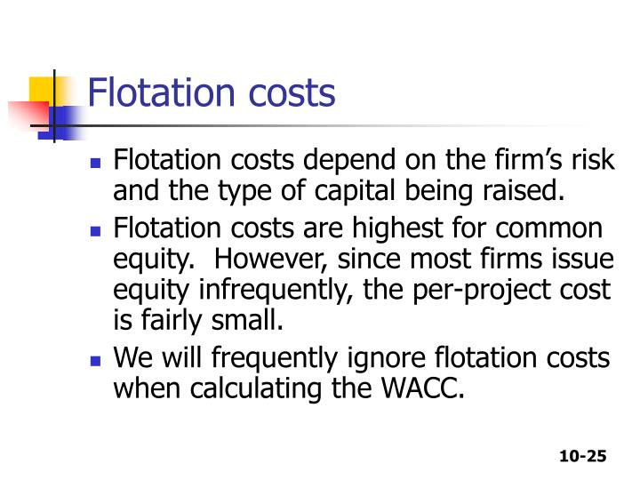 PPT - CHAPTER 10 The Cost of Capital PowerPoint Presentation - ID:336292
