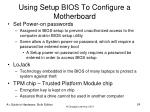 using setup bios to configure a motherboard24