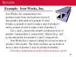 example iron works inc