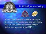 pl 105 85 monitoring