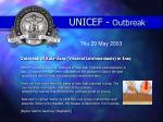 unicef outbreak