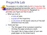 projectile lab58