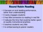 round robin reading