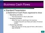 business cash flows11