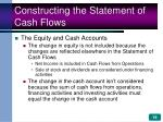 constructing the statement of cash flows19