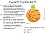 example problem 6 73