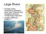 large rivers