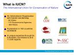 what is iucn the international union for conservation of nature