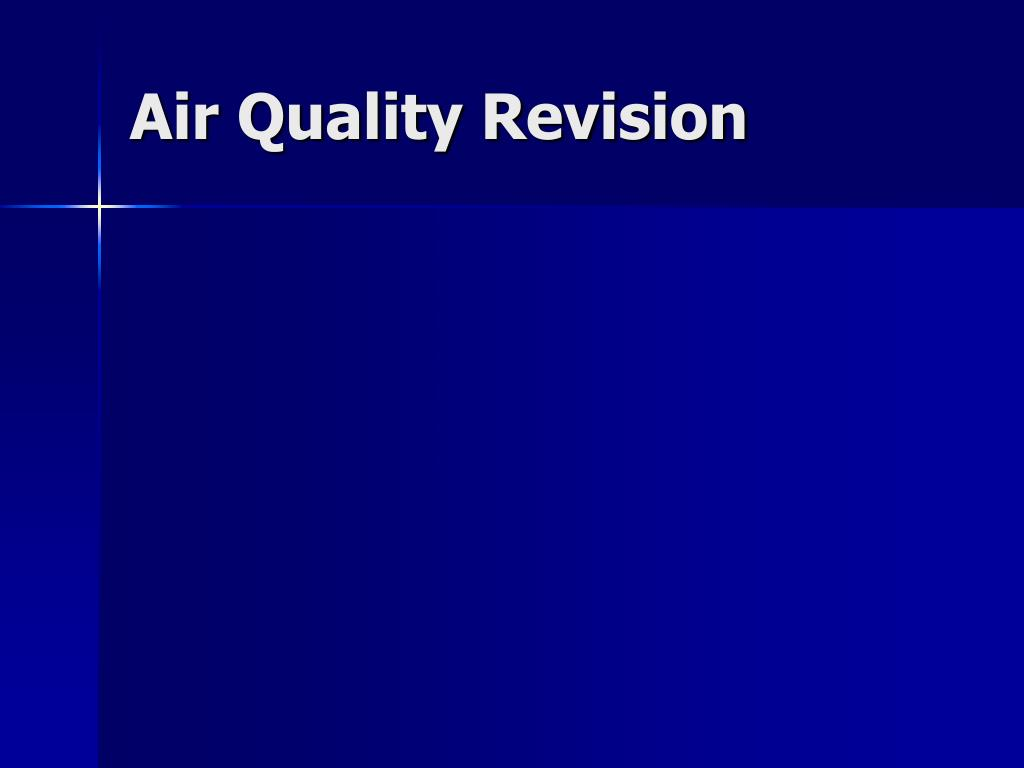 air quality revision l.