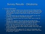 survey results oklahoma27