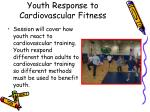 youth response to cardiovascular fitness