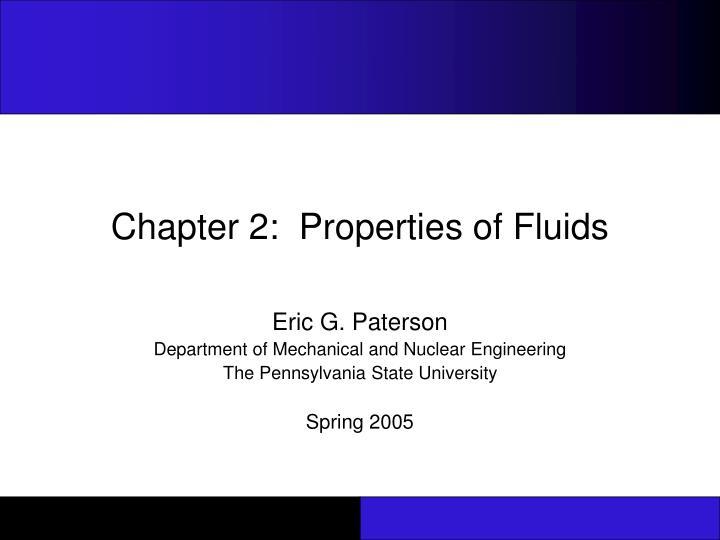 chapter 2 properties of fluids n.