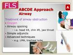 abcde approach airway14