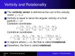 vorticity and rotationality