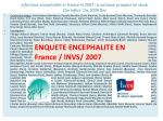 infectious encephalitis in france in 2007 a national prospective study clin infect dis 2009 dec