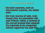 noncash expenses