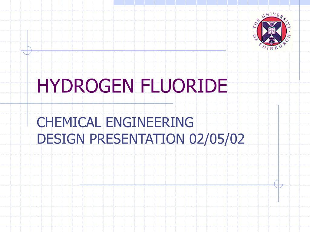 hydrogen fluoride l.