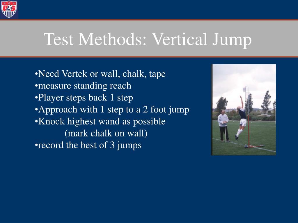 Test Methods: Vertical Jump