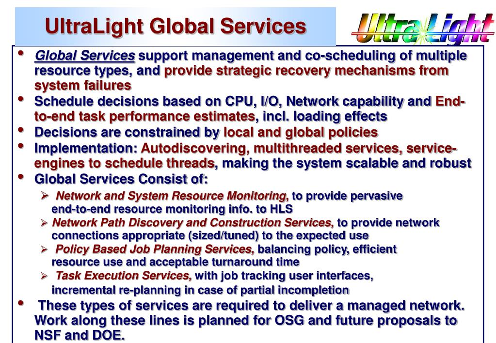UltraLight Global Services