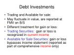 debt investments4