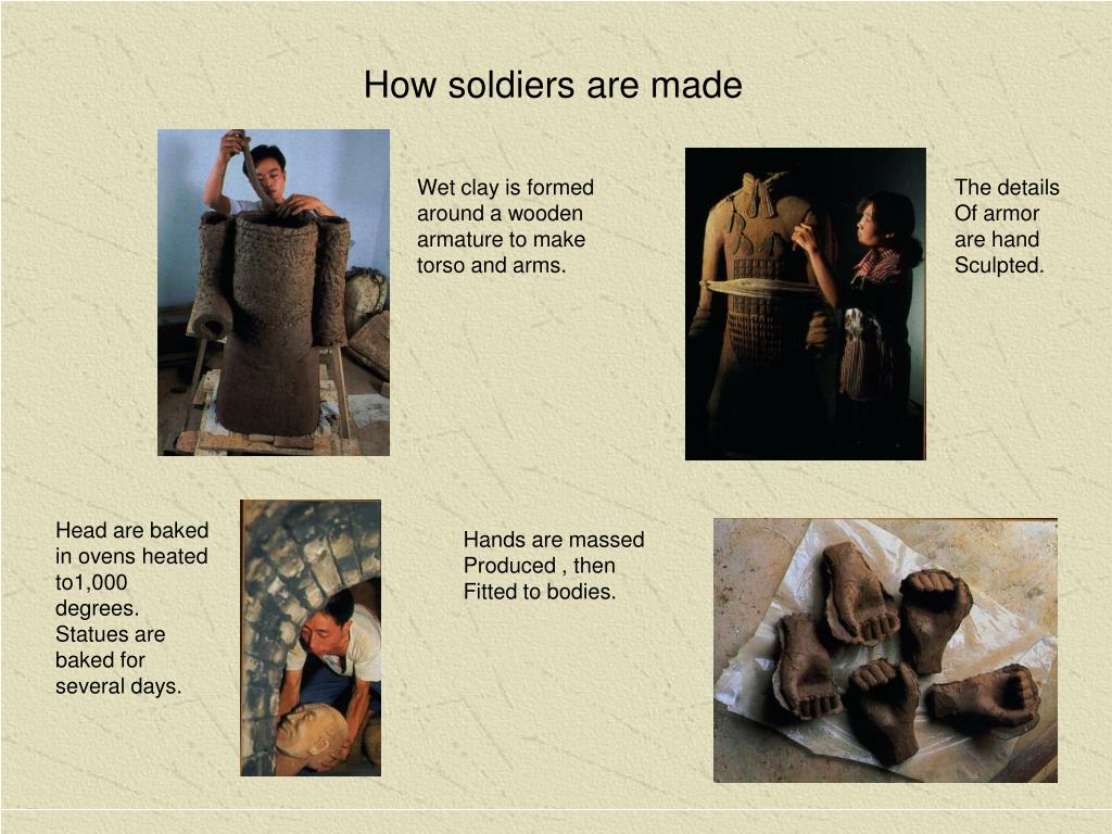 How soldiers are made