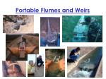 portable flumes and weirs