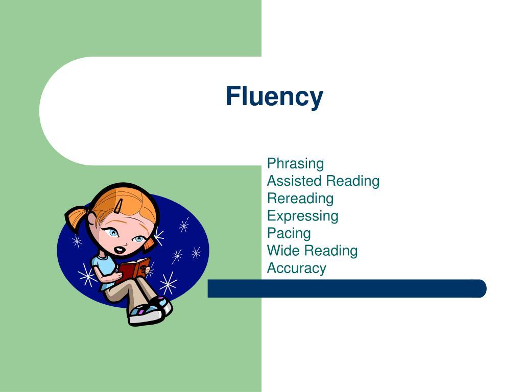 fluency l.